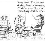 Teaching disability?