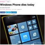 Microsoft's kodak moment