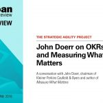 Implementing OKR system