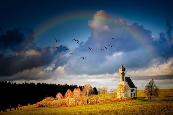San Bhaskaran -variable x and rainbows